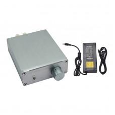 B100 TDA7498E Digital Power Amplifier Dual BTL Class D Subwoofer Audio Amplifier w/ Power Adapter