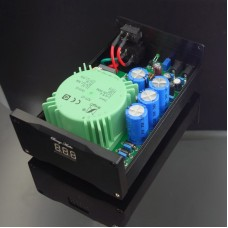 SUPER 3.5A DC Linear Regulated Power Supply Default 12V Dual Output Low Noise for Audio Equipment