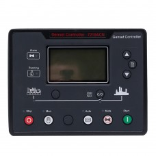 Maxgeek 7210CAN Diesel Generator Controller Genset Auto Start Control Panel w/ Auto Main Failure Function