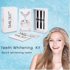 Teeth Whitening Gel Pen Kit Teeth Beauty Whitening Light Kit Tooth Whitener Oral Care Instrument