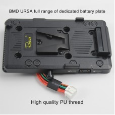 ZITAY CCTECH V Mount Battery Plate For BMD URSA Mini4K 4.6K EF/URSA V Mount Plate Camera Accessory