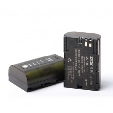 ZITAY LP-E6 Battery 2040mAH Visual Electricity For Canon 5D4 80D 5D2 5D3 BMPCC 4K Second Generation