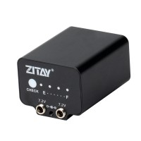 ZITAY External Battery Replace F970 Battery Plate For SLR Using Battery Base For Sony F550/970/750