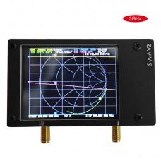 S-A-A-2 NanoVNA V2 50KHz-3GHz Vector Network Analyzer HF VHF UHF Antenna Analyzer Shortwave Black