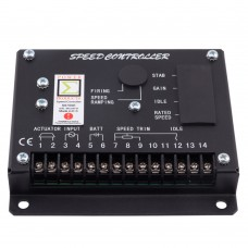Maxgeek S6700H Generator Speed Controller Diesel Engine Speed Governor Speed Control Board