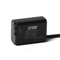 ZITAY NP-FW50 Power Adapter For Sony SLR Cameras A7S/A7S2/A7M/A7M2/A72 Or A600/A6300/A6500