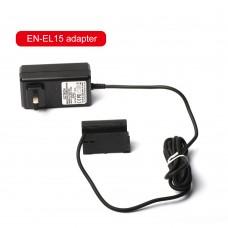 ZITAY EN-EL15 Dummy Battery Power Supply Power Adapter Accessories For SLR Cameras D810 D850 D750