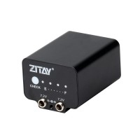 ZITAY External Battery Power Supply Dummy Battery For Canon SLR 550D/650D/600D Using LP-E8 Battery