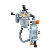 Maxgeek ER2500 168F 2KW LPG Carburetor Kit Manual Carburetor Dual Use Gasoline Water Pump Engine Parts