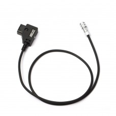 ZITAY Power Cable D-TAP To BMPCC 4K 6K 2nd Generation For V Mount B Port Battery (Straight Cord 60cm)
