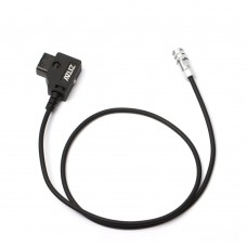 ZITAY Power Cable D-TAP To BMPCC 4K 6K 2nd Generation For V Mount B Port Battery (Spring Wire)