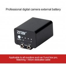 ZITAY External Battery Power Cable Power Cord Kit Photography Accessories For Monitor Yunxi Box Pro