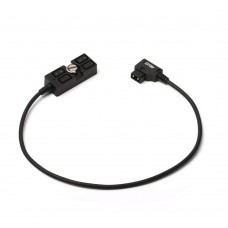 ZITAY Camera 4-Port D-TAP Power Cord Power Cable Splitter For B Type Anton V Mount Battery Adapter Cable