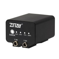 ZITAY Camera External Battery NP-FZ100 External Power Supply For Sony A9/A7M3 A7R3/A6600/A73 SLR