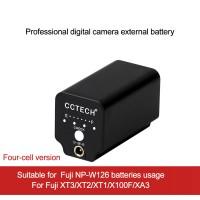 ZITAY External Battery Mobile Power Supply For Fuji XT3/XT2/X100F Mirrorless Camera Using NP-W126