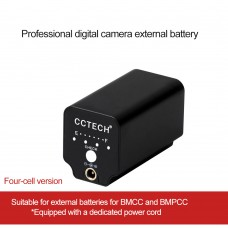 ZITAY Digital Camera External Battery Mobile Power Supply For BMCC/BMPCC Photography Accessories