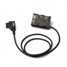 ZITAY D-TAP To LP-E6 Dummy Battery D-TAP Adapter Cable For SmallHD 502 702 Monitor Power Supply