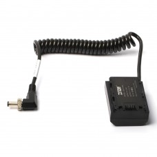 ZITAY DC To NP-FZ100 External Dummy Battery Power Supply Cable Powe Cord For Sony A73/A7R3/A7M3