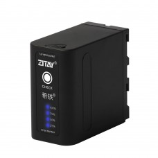 ZITAY 10500mAh Rechargeable Battery For NP-F970/980/F550 DC Photography Fill Lights Monitors Cameras