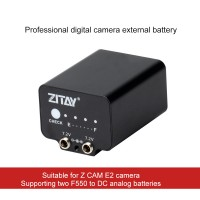 ZITAY Digital Camera External Battery Dummy Battery Power Cord Photography Accessories For Z CAM E2
