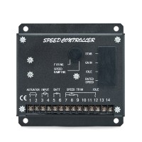 Maxgeek S6700E Generator Speed Controller Diesel Genset Speed governor Speed Control Circuit Board