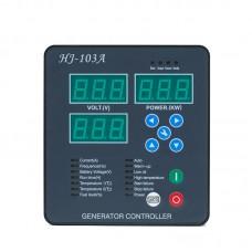 Maxgeek HJ-103A Generator Controller Control Panel Diesel Genset Control Module Automatic/Manual Start