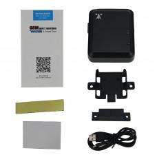 GSM Smart Door Sensor Alarm Door Sensor Magnetic for Door Window Real-Time Tracker RF-V13