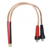 2pcs Handheld Spot Welding Pen 18650 Battery Spot Welder Pen with Pure Copper Wires For DIY