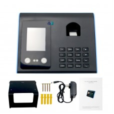 Biometric Face facial Recognition Face Fingerprint Time Attendance USB No software Needed Excel Format
