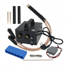 Spot Welding Machine Handheld Spot Welder Soldering Machine Adjustable Current for 18650 Battery (Copper 900)