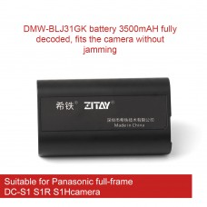 ZITAY DMW-BLJ31GK Battery For Panasonic Full-Frame DC-S1 S1R S1H Cameras Photography Accessories