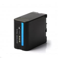 ZITAY BP-U60 U90 U30 Lithium Battery Pack 6800mAh Visual Electricity For Sony PMW-100 EX280 FS7 EX260