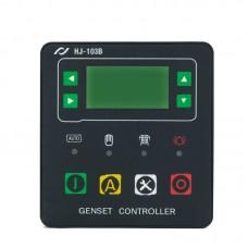Maxgeek HJ-103B Generator Controller Diesel Genset Control Module Auto Start Control Panel LCD Display