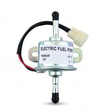 Maxgeek Electric Fuel Pump Gasoline Diesel Pump External Fuel Oil Delivery Pump 12V/24V for Yanmar