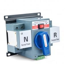 Maxgeek 63A 2P Generator ATS Manual Automatic Transfer Switch Dual Power Conversion Generator Parts