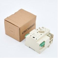 Maxgeek ASKQ-63A 2P ATS Automatic Transfer Switch Dual Power Electrical Selector Switch PC Grade