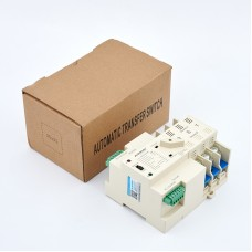 Maxgeek ASKQ-63A 3P ATS Automatic Transfer Switch Dual Power Electrical Selector Switch PC Grade