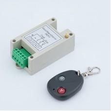 Maxgeek Generator 2 Ways Remote Start Stop Control Unit Genset Control Module w/ Remote Controller