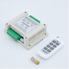 Maxgeek Generator 5 Ways Remote Start Stop Control Unit Genset Control Module w/ Remote Controller