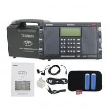 For Tecsun Radio H-501 Dual-Speaker DSP SSB Portable Full Band Radio Music Player Bluetooth Speaker