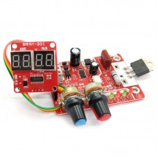 NY-D01 Single Pulse Spot Welder Controller Spot Welding Controller Time Current Digital Display 40A