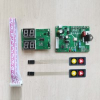 DIY Spot Welding Controller Kit Spot Welder Control Board Time & Current Digital Tubes w/ 41A SCR