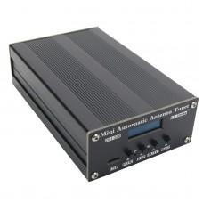 "CGJ-100Q 1.8-30MHz Mini Automatic Antenna Tuner 0.91"" OLED Display For 1-40W QRP Shortwave Radios"