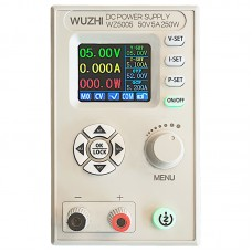 "WZ5005 Adjustable DC Power Supply 50V 5A 250W CV CC Step Down 1.8"" LCD TTL Direct Communications"