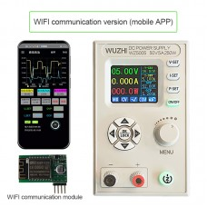 """WZ5005 Adjustable DC Power Supply 50V 5A 250W CV CC Step Down 1.8"""" LCD WIFI Communications With APP"""