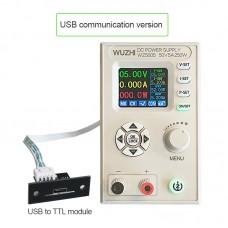 "WZ5005 Adjustable DC Power Supply 50V 5A 250W CV CC Step Down 1.8"" LCD USB Communications Version"