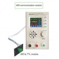 "WZ5005 Adjustable DC Power Supply 50V 5A 250W CV CC Step Down 1.8"" LCD RS485 Communications Version"