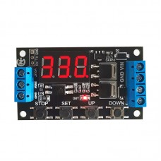 ZK-TD4 MOS Switch Type Trigger Cycle Timing Delay Module Solenoid Valve Control 5V12V24V For DIY Use