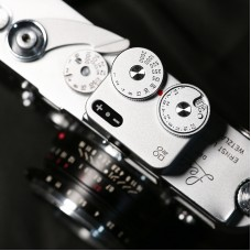 DOOMO Meter D Hot Shoe Light Meter For Dual Lens Reflex Camera 120/135 RangeFinder Leica (Silver)