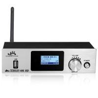 HD951BT 5.1 Audio Decoder USB Sound Card Bluetooth Receiver For Optical Fiber Coaxial Silver Panel